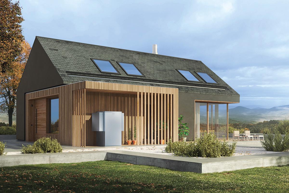 Wärmepumpe Haus